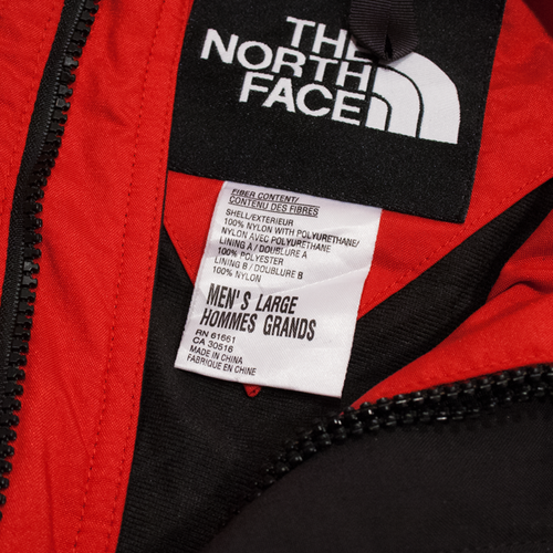 Image of The North Face Vintage Exreme Gear Jacket Size L
