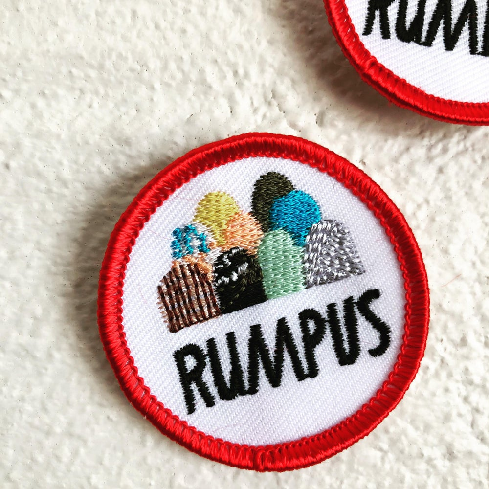 Image of Rumpus Fabric Embroidered Patch