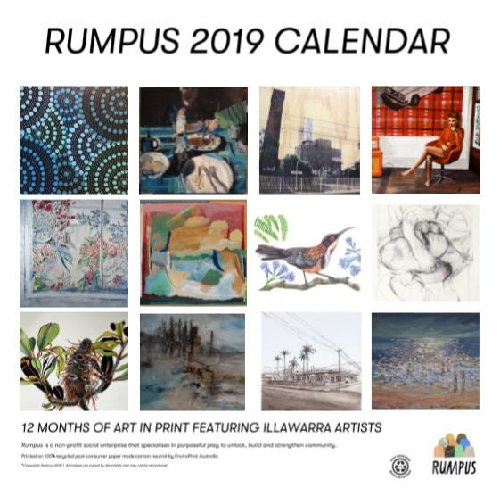 Image of The 2019 Rumpus Wall Calendar