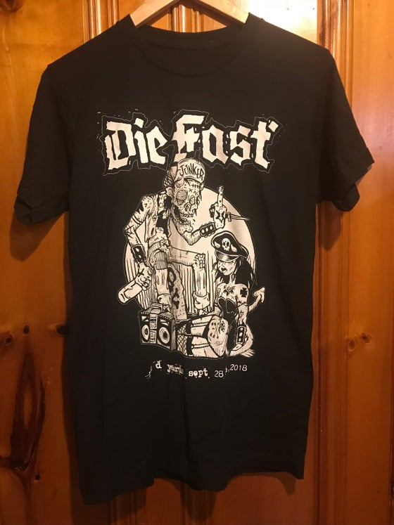Image of Die Fast Wesley Mitchell Scumbag Shirt