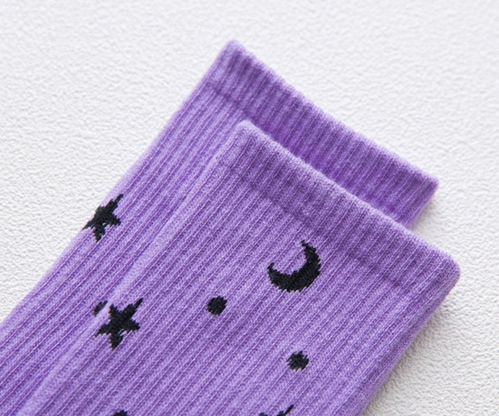 Image of LAVENDER SKIES SOCKS