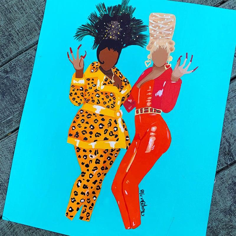 Image of Boo Yow! Poster Print & Original