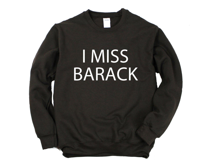 "Image of ""I Miss Barack"" Crewneck"