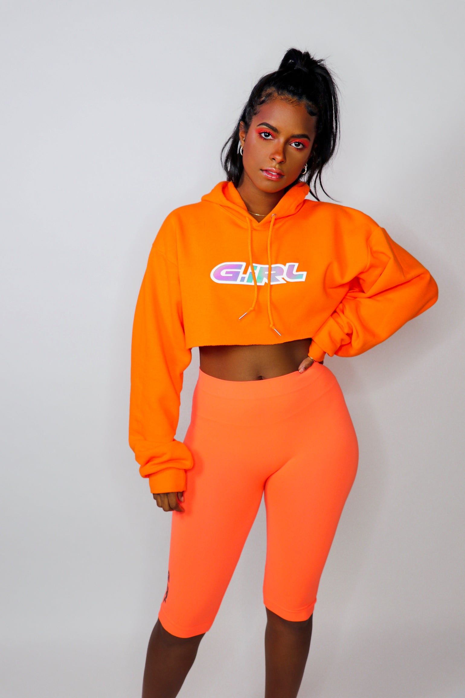 Image of G.IRL Cropped Hoodie