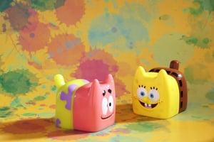 Image of Ratokim X Unbox Bread Cat - SpongeBob ver.