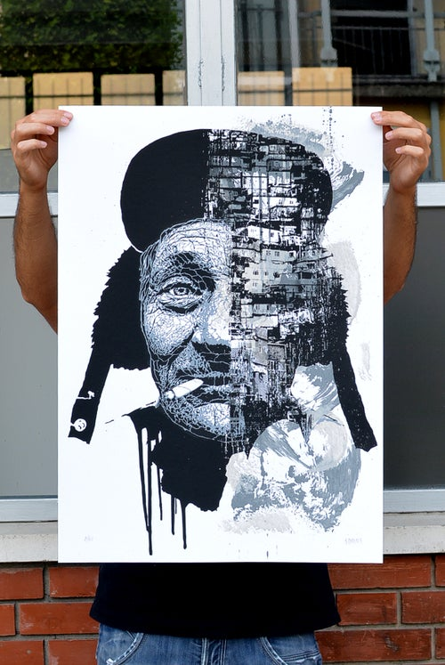 Image of WE ALL ARE URBAN CREATURES / Silkscreen Limited Edition
