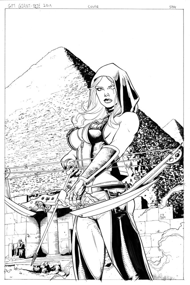 Image of Grimm Fairy Tales 2019 Giant Size (Original Published Cover Art)