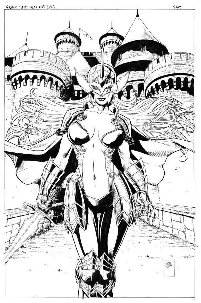 Image of Grimm Fairy Tales Vol. 2 #25 (Original Published Cover Art)