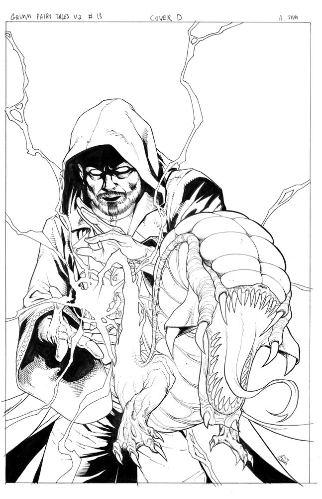 Image of Grimm Fairy Tales Vol 2 #13 (Original Published Cover Art)