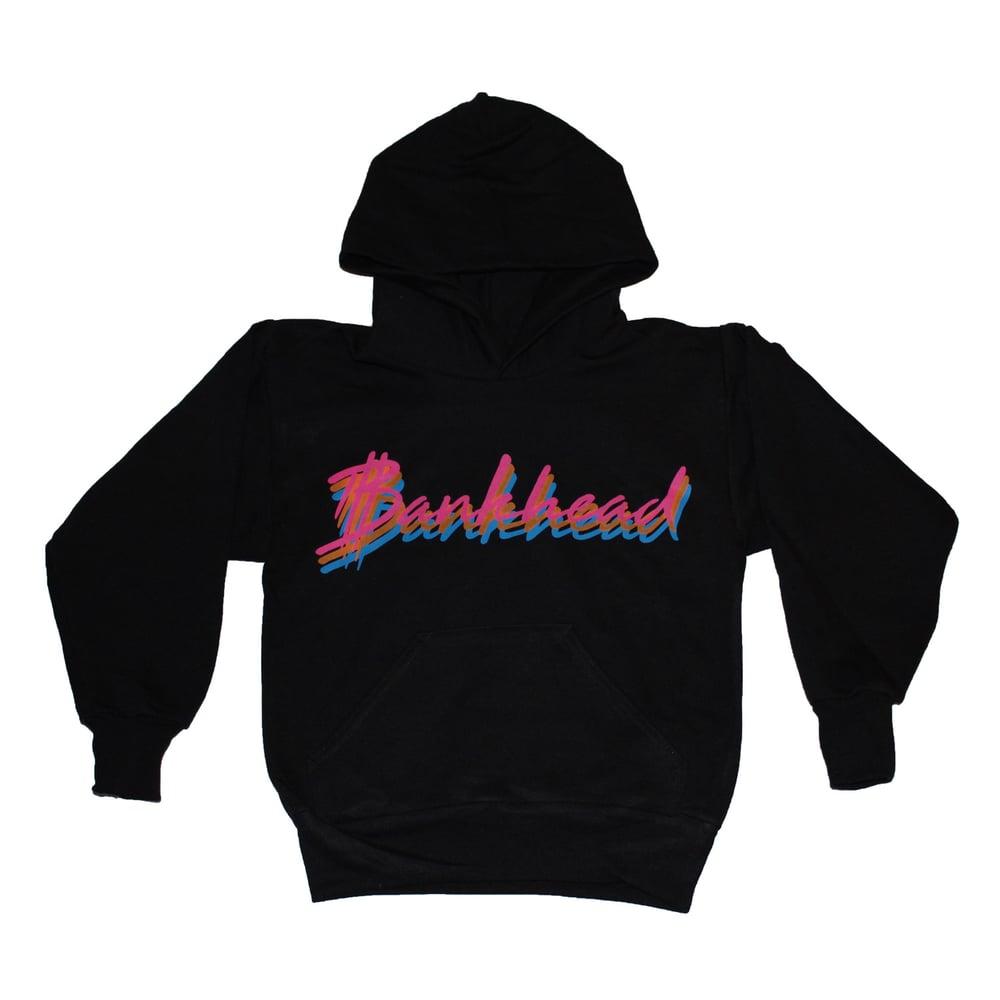 Image of Kids Bankhead Signature script hoodie