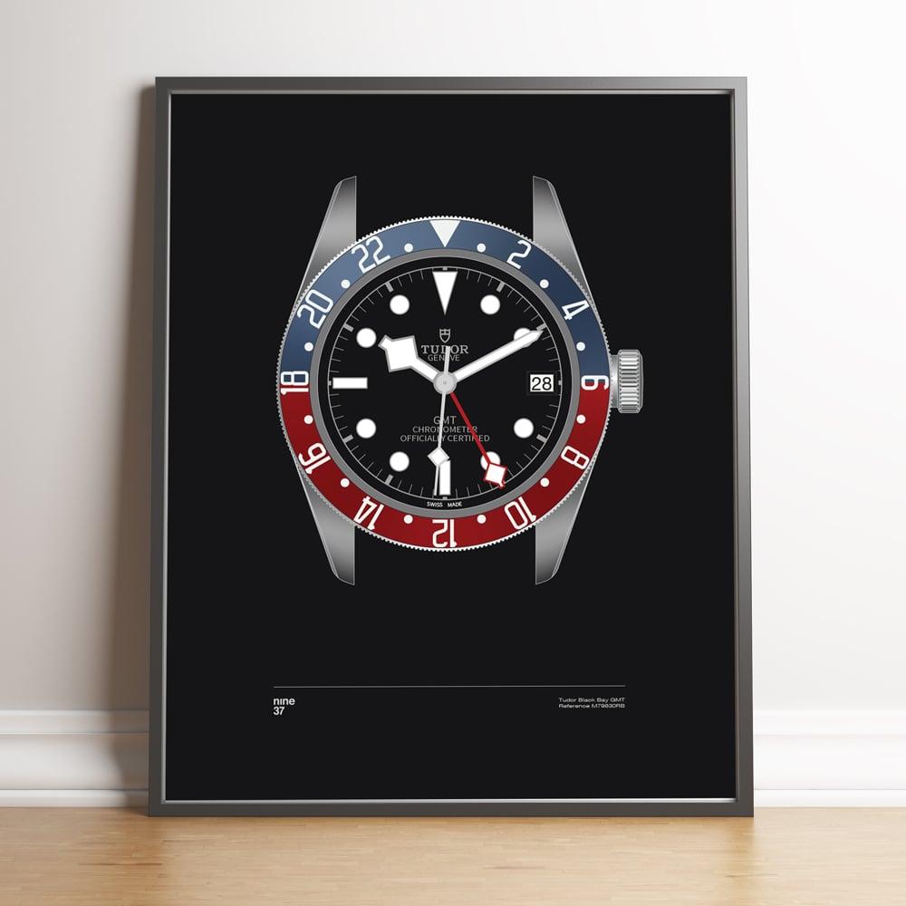 Image of Tudor Black Bay GMT