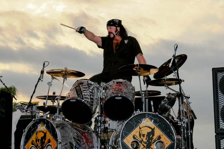 Image of Vinnie Paul 11x14 print