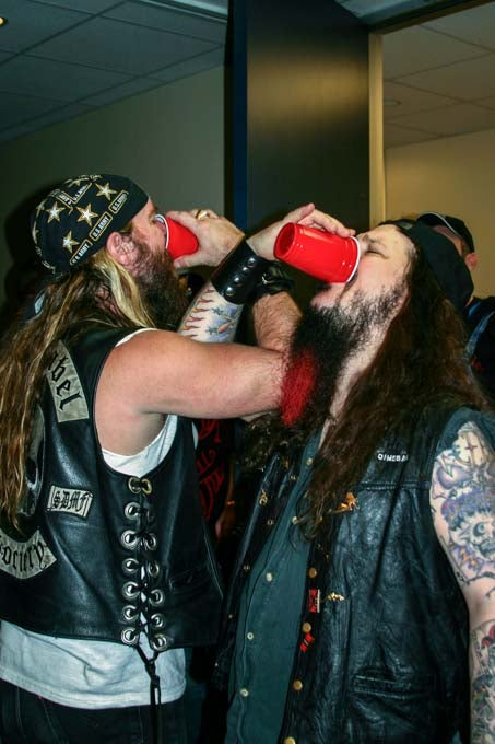 Image of DIme and Zakk Cheers