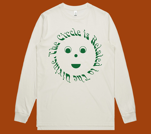 Image of The Circle is Related to The Divine - Organic Natural L/S