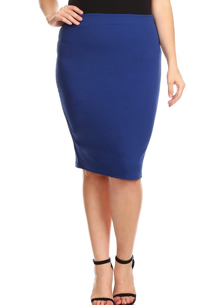 latest fashion enjoy cheap price top-rated official Royal Blue Pencil Skirt