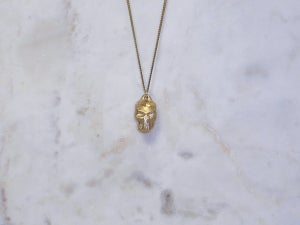 Image of RC Warrior Skull Necklace