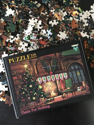 Image of Thanx For Nothing Vandals Christmas Puzzle