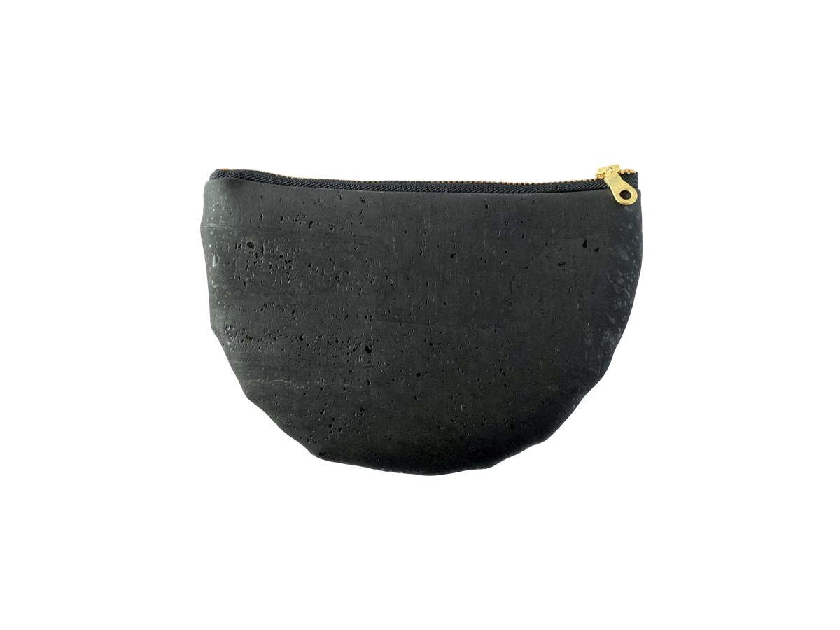 Image of Paula Clutch In Black Cork