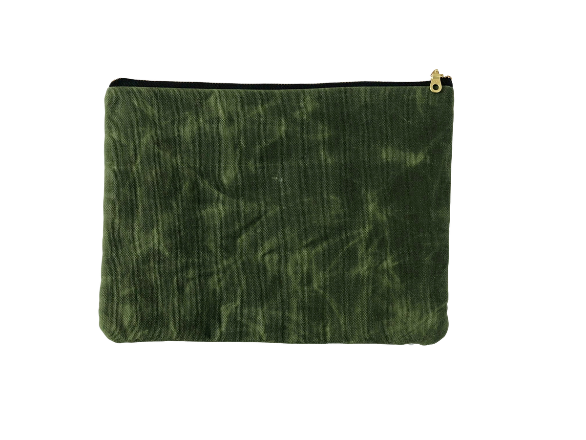 6ccac82d63f Big Green Clutch Bag