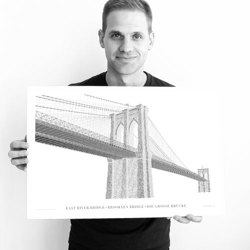 Image of Brooklyn Bridge –Typo Edition