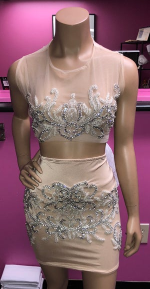 Image of Shay Rhinestone 2 Piece Set