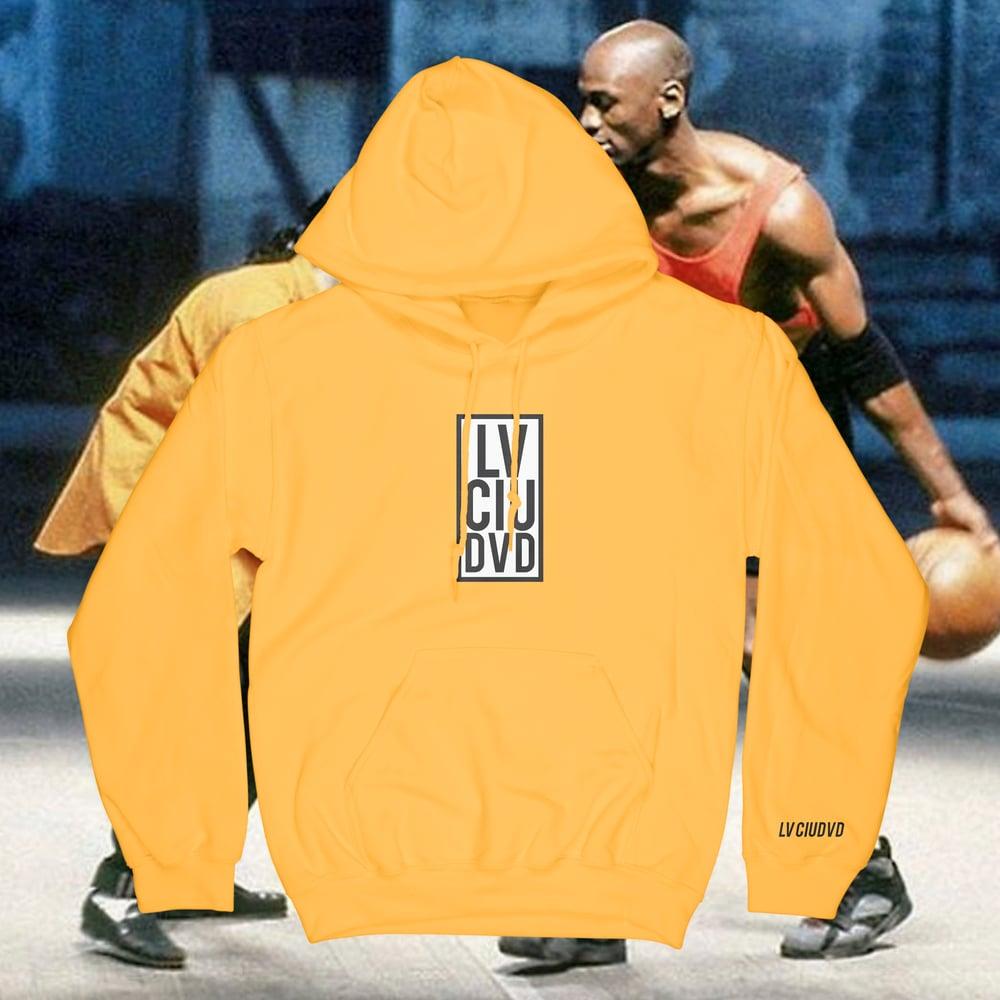 Image of Lv Ciudvd Box Logo Hoodie (YELLW) [JAM]