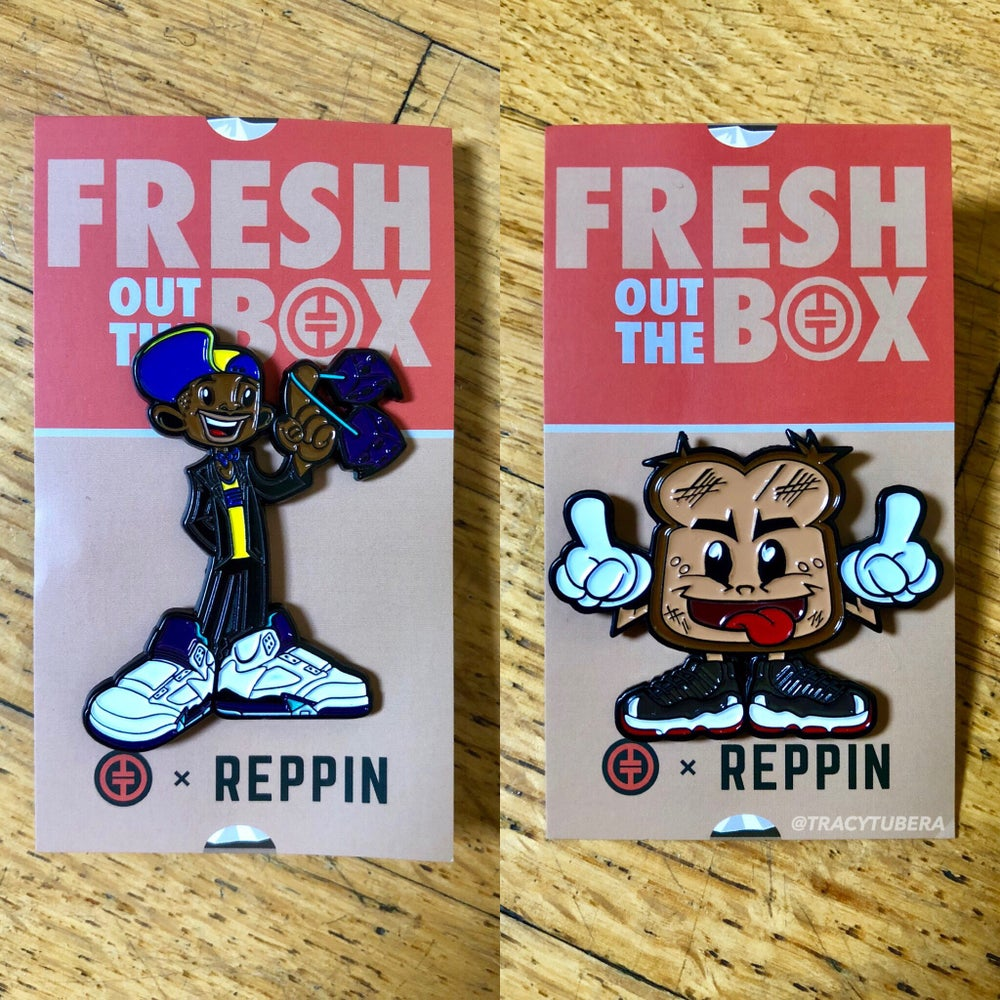 Image of FRESH OUT THE BOX PINS