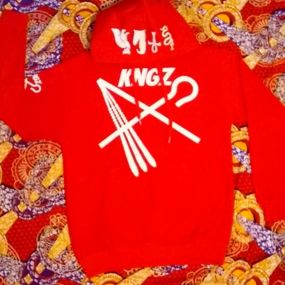 Image of KNGZ CROOK &FLAIL GLITTER PULLOVER