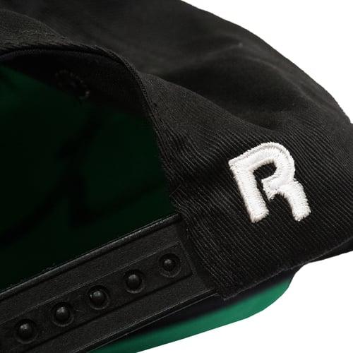 Image of Reebok Black Top Vintage Snapback Hat