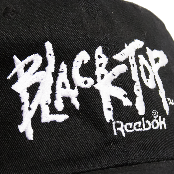 Image of Reebok Black Top Vintage Snapback Hat