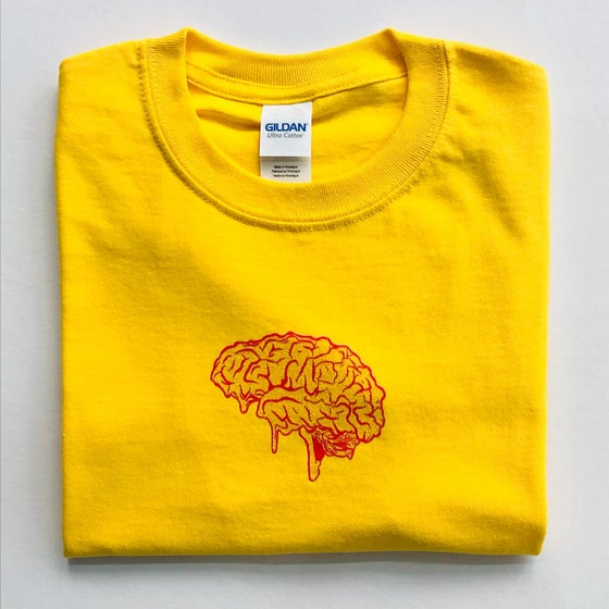Image of Dirtbrain Tee (yellow)