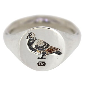 Image of Heavyweight Signet - Silver