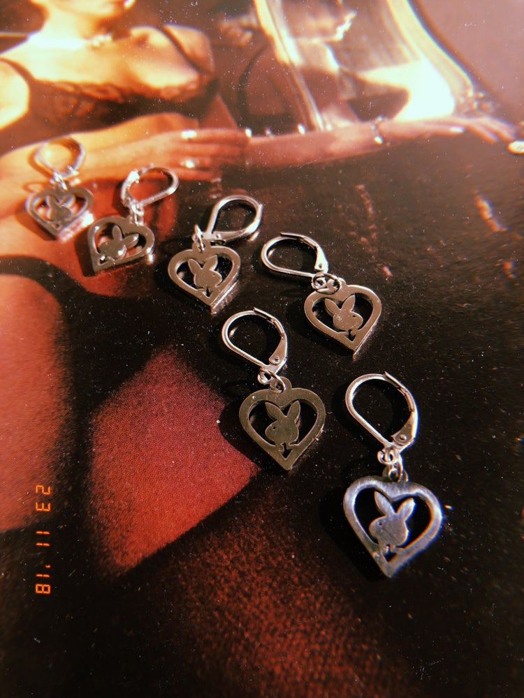 Image of BUNNY HEART EAR CUFFS
