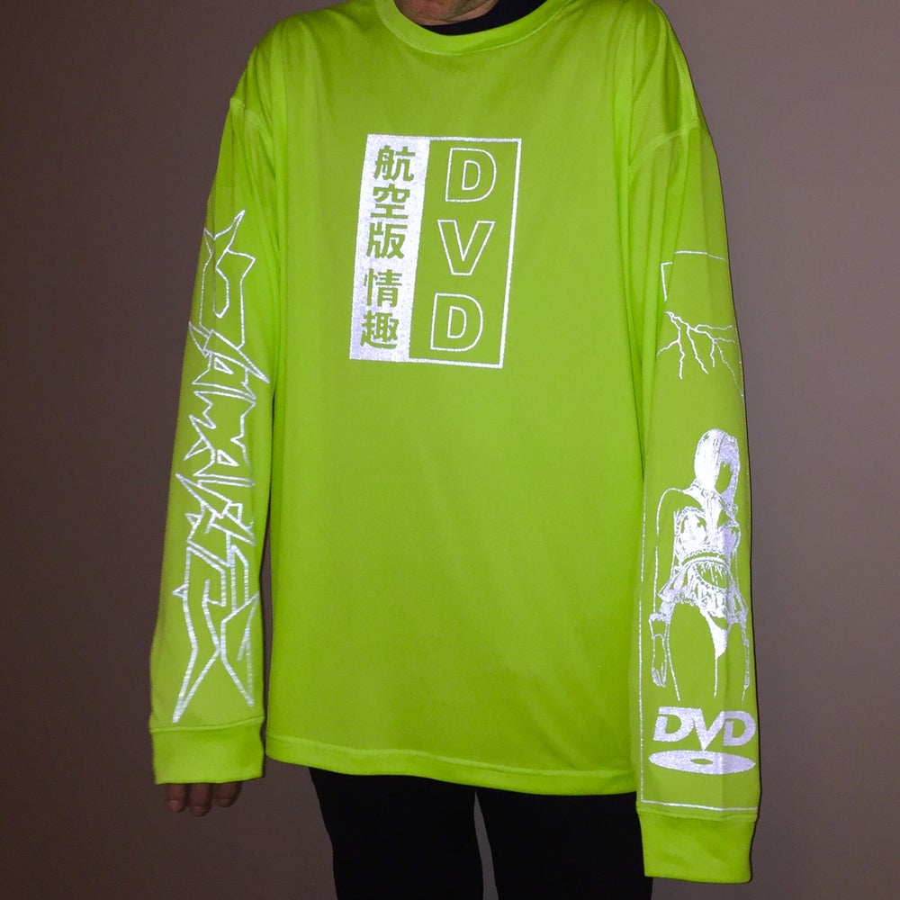 Image of DVD AIR/Ver.3M  Long sleeves (Neon green)