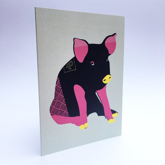 Image of Big Pig card
