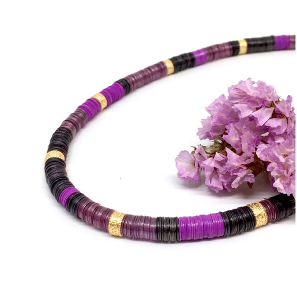 Image of PURPLE RAIN necklace