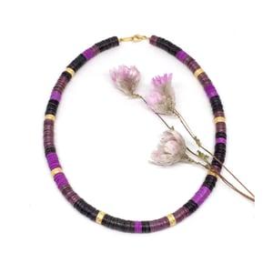 Image of PURPLE RAIN necklace