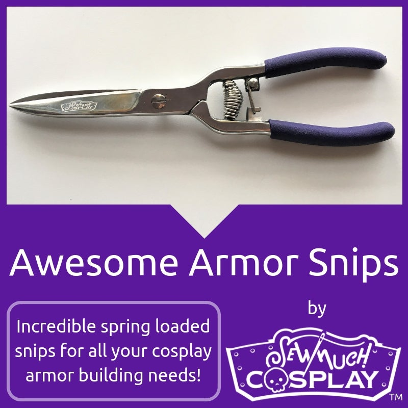 Image of Sew Much Cosplay Awesome Armor Snips