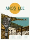 """Amos Lee (September 2016) • Limited Edition Official Poster (18"""" x 24"""")"""