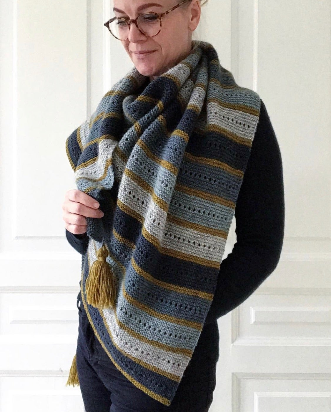 Image of Almue Sjal (Danish pattern only! English pattern is available on Ravelry)