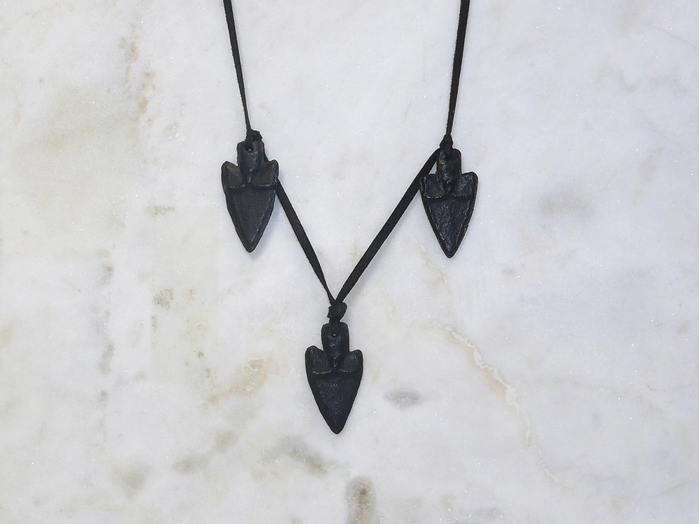 Image of Rebel Chic Warrior Arrowhead Choker