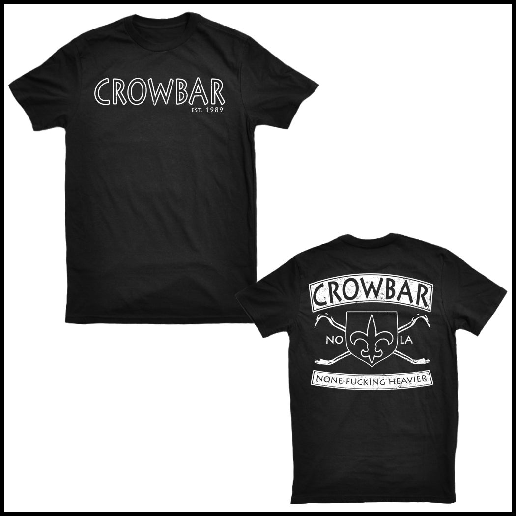 Image of CROWBAR EST. 1989 T-SHIRT