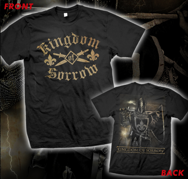Image of KINGDOM OF SORROW KNIGHT T-SHIRT