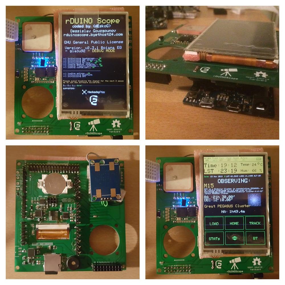 "Image of rDUINOScope ILI9488 3.5"" display"