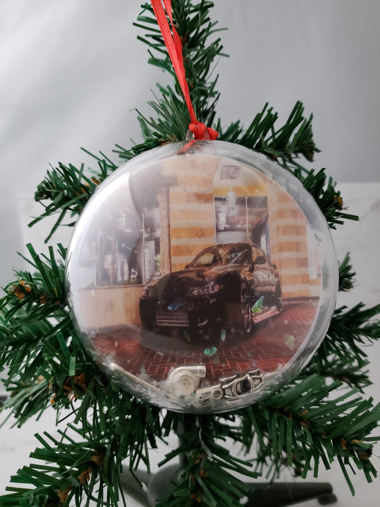 Image of Holiday Car Ornament
