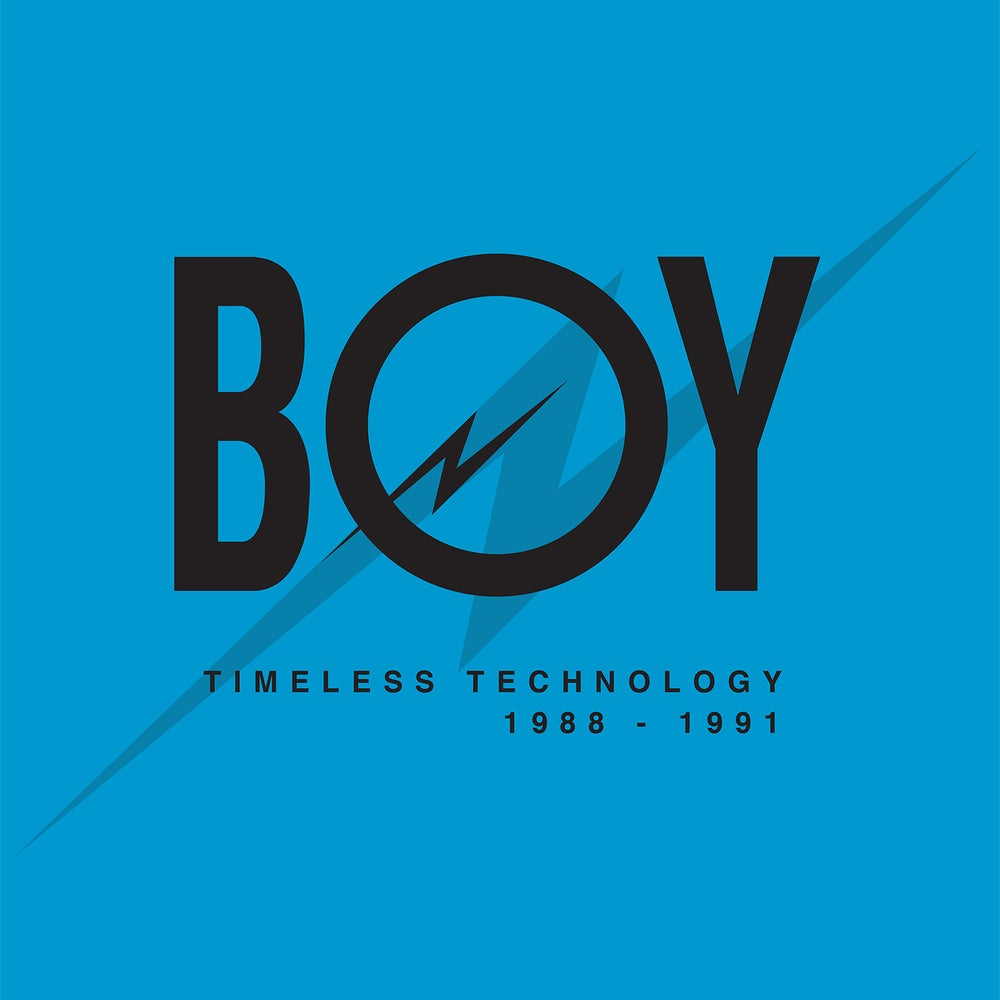 Image of BOY Records - Timeless Technology 1988-1991 4LP-BOX