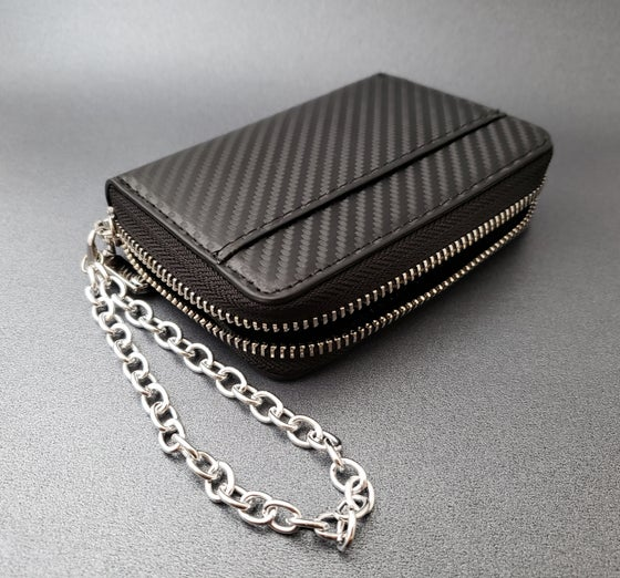 Image of Carbon Fiber Wallet or Wristlet