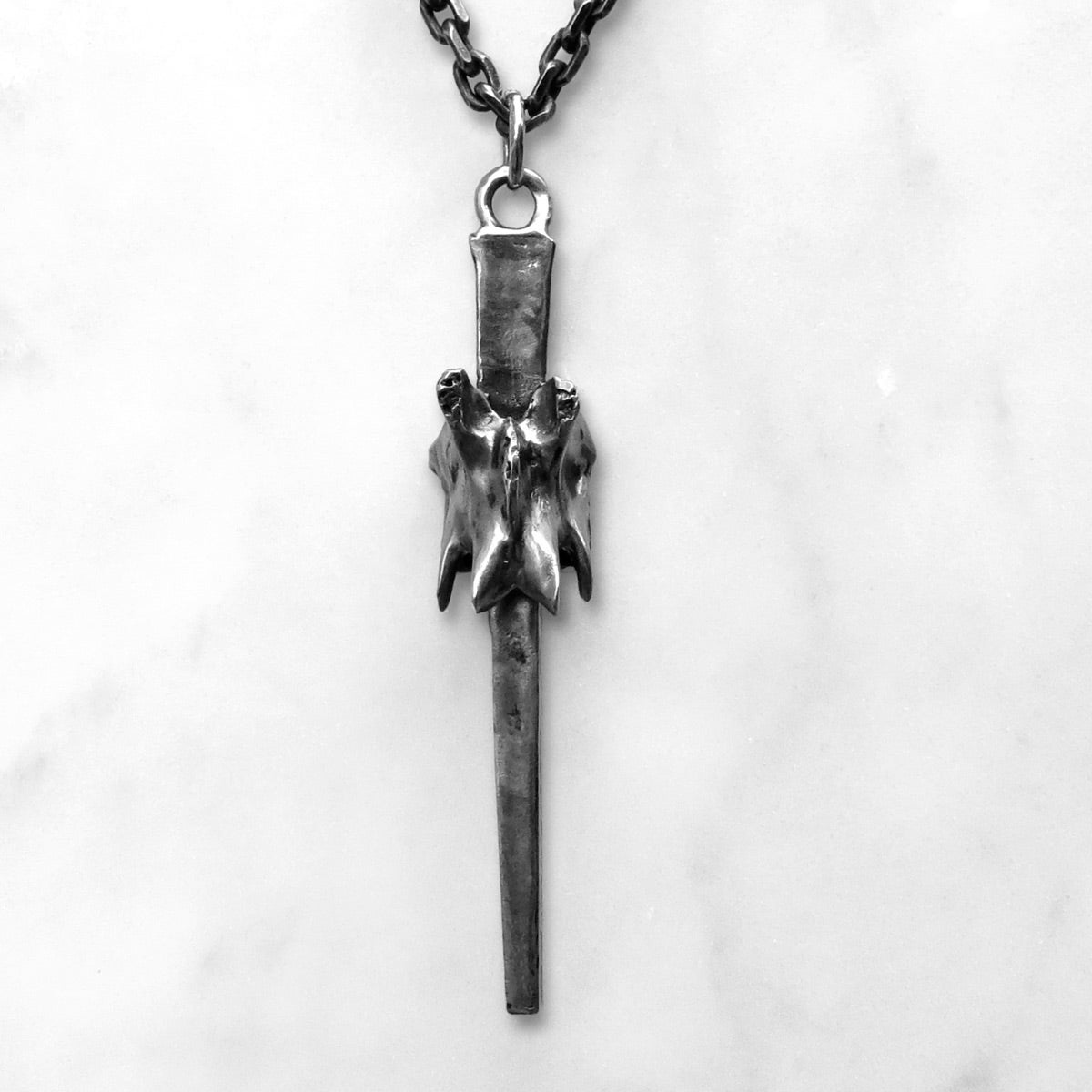 Image of Ossuary Nail Necklace
