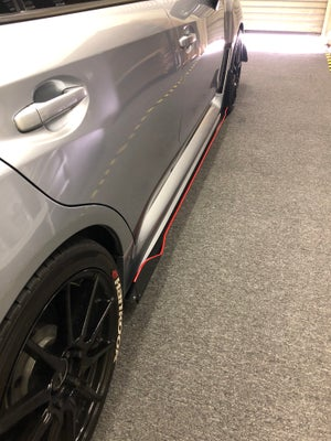 "Image of ""V2"" style Side skirts"