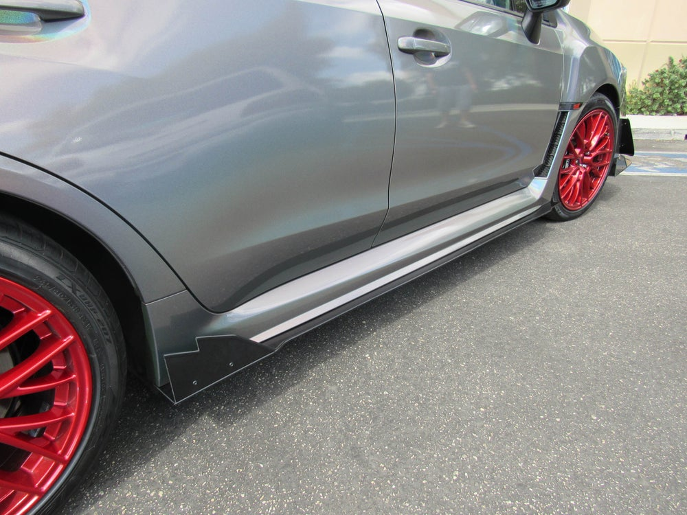 Image of V3 style side skirt extensions